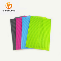 43 33 CM Eco Friendly Silicone Dish Drying Mat And Pads Antibacterial Dish Washing Safe