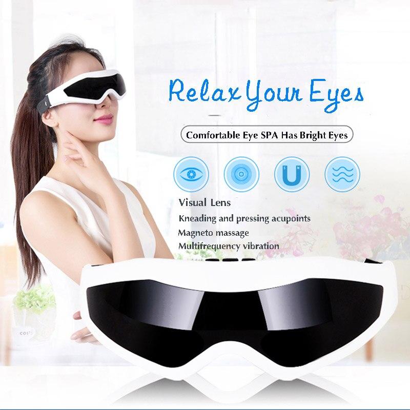 Eye Massager Remove Dark Circle Care Magnetic Anti Wrinkle Migraine Eye Health C