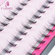 F.Lashes 2018 New Natural Eyelash Extension Eye Beauty Makeup Accessories 3D Soft Hair Eyelashes Makeup False Eyelashes Girl