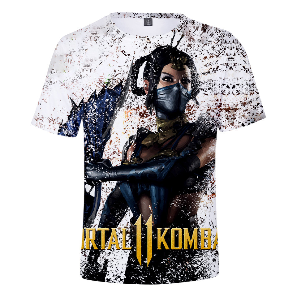 Mortal Kombat premium t shirt fighting game genre 100/% cotton loose fit