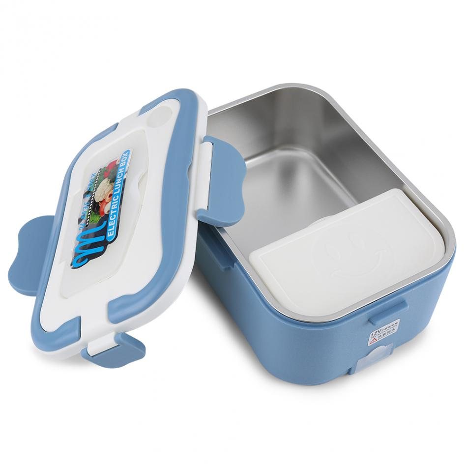 ba614ae86b2d US $28.5 43% OFF|1.5L Bento Electric Lunch Box Set Portable 12V/24V Car  Electric Heating Lunch Box Food for Traveling Box Lunchbox For Kids-in  Lunch ...