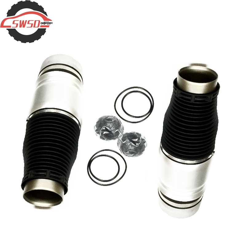 Pair Rear Left & Right Air Spring Bag Air Suspension Shock Repair For Audi Q7 Porsche Cayenne VW Touareg 7L8616503B 7L8616019D