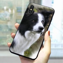 Lovely Dog Soft TPU Case for iPhone Xs Max Protective Phone Cover for iPhone XR 5 5s se 6 6s plus 7 8 X Xs Max Backshell black cover japanese samurai for iphone x xr xs max for iphone 8 7 6 6s plus 5s 5 se super bright glossy phone case