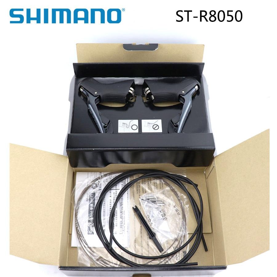 SHIMANO Ultegra Di2 ST-R8050 vélo de Route double contrôle leviers STI pour Jante Freins 2x11 vitesse Paire