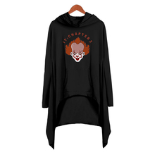 it-chapter2 print Basic midi Dress Popular Casual Streetwear cool fashion women Autumn Shift Hoodies Long Sleeve Dress