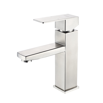 LEDEME Bathroom Basin Faucet Bathroom Tap Hot Cold Water Sink Faucets Stainless Steel Single water Basin Mixer Water Taps L71033 7