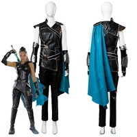 Cosplay Thor Ragnarok Valkyrie Costume Thor 3 Outfit Superhero Battle Suit adult women Valkyrie Halloween Cosplay Costume