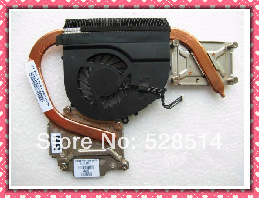 Original 644514-001 CPU heatsink and fan for HP DV4-3000 Free Shipping