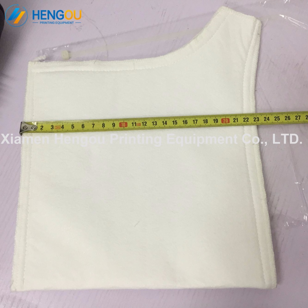 10 pieces free shipping offset SM74 SM52 PM52 GTO52 machine tank filter bags G2 196 1746