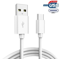 USB C Cable Type C Cable 5ft, 2 in 1 Data and Charging Cable for Mobile Phone, Laptop, Charging Station, Power Bank, Tablet, etc