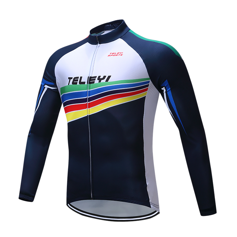 TELEYI Brand Flier maillot Long Sleeve Cycling Jersey/mtb bike clothing/cycling wear Cycling Clothing/Ropa De Ciclismo