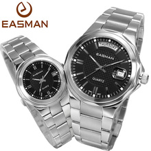 EASMAN Brand Watches Couples Lover Fashion Casual Multifunction Quartz Watch For Lovers Laides And Mens Wristwatches Lover Watch
