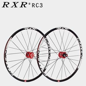 Image 4 - 2020 MTB Mountain Bike Carbon fiber drum 26er 27.5er 29er Six Holes Disc Brake bicycle Wheel 7/11 Speed Alloy Rim Wheelset