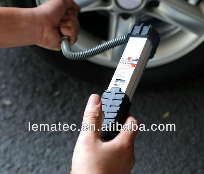 LEMATEC Pro sunkiųjų padangų pripūtiklis su manometru Padangų - Elektriniai įrankiai - Nuotrauka 4