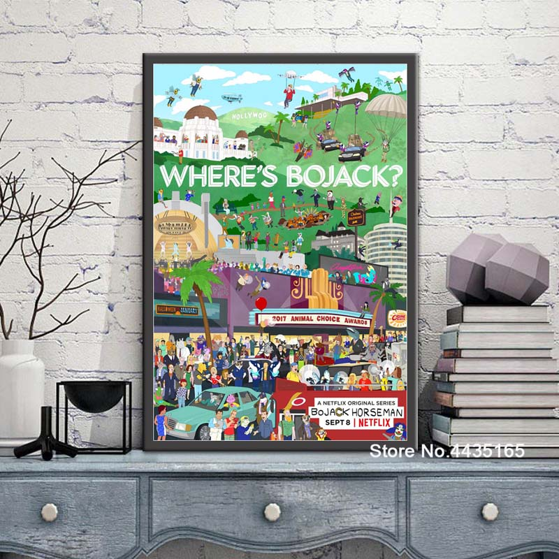 Bojack Horseman Poster TV Series Show Posters and Prints