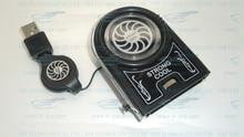 Elfin external induced draft fan , Mini vacuum USB radiator notebook heat sink strong fan DC5V(USB) FYD-738 In stock