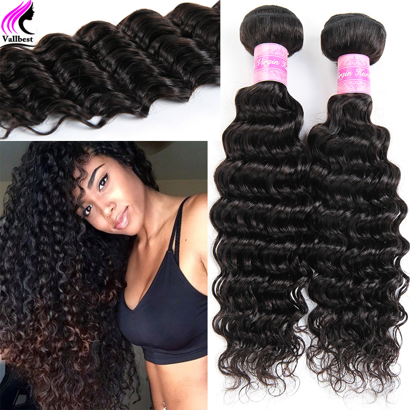 Peruvian Deep Wave 4 Bundles Peruvian Virgin Hair Deep Wave Peruvian Deep Curly Weave Human Hair Curly Hair Wet And Wavy Curly