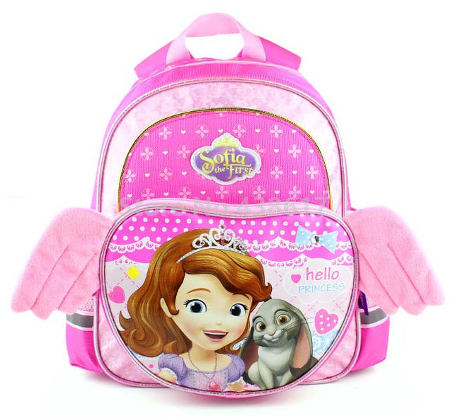 Cute Kawaii Sofia the First Princess Sofia Pink Backpack School Bags for  Girls Kids Kindergarten Preschool School Children Bag d47f657574a85