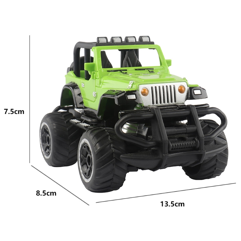 RC Car Off-road Vehicles Toys 4 Remote Control Electric Car 1:43 4WD Electric Radio Remote Control Rock Off-Road Driving Truck T