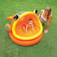 Big Mouth Fish Inflatable Shade Swimming Pool #57109