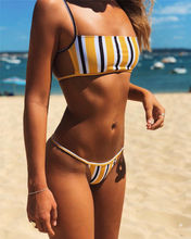 купить 2019 New Sexy Women Padded Bra Bikini Set Strap Sleeveless Swimsuit Bandage Ladies Push-up Bikini Beachwear Triangle Swimwear по цене 576.16 рублей