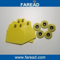 X60pcs Pet ID Round Ear Tag Sheep Cow Pig RFID Animal Identification Visual Tag HDX X1pc