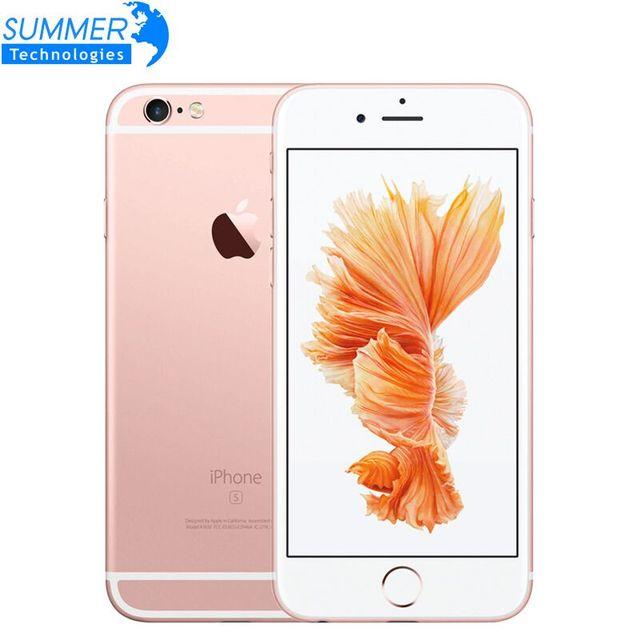"Original Unlocked Apple Iphone 6 S Smartphone 4.7 ""IOS Dual Core A9 16/64/128 GB ROM 2 GB RAM 12.0MP 4G LTE IOS Ponsel"