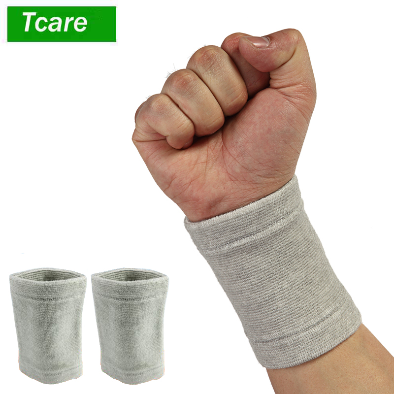 1Pair Elastic Wrist Support Bracer Protection Compression Belt Reliable Weightlifting Guard Wrist Cuff Bandage Wrist care Strap
