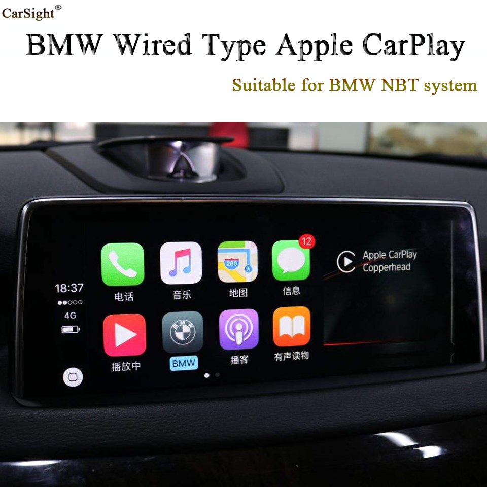 2019 New Released CarPlay Interface for BMW F30 F31 F34 Siri
