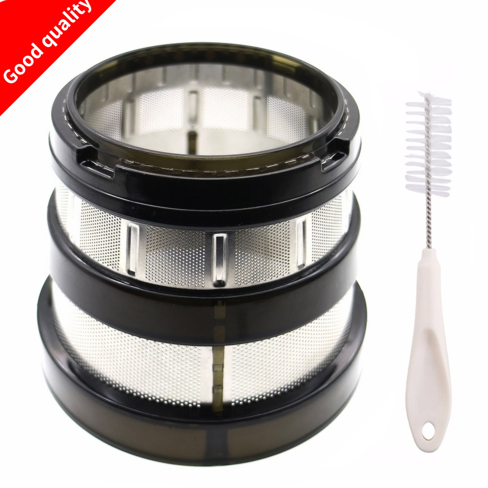slow juicer for blender spare parts,fine filter small hole for hurom hu-1100wn hu-600WN hu-660WN-M SBF11 HU-19SGM HUE21WN slow juicers parts rotating brush frame replacement for hurom hue21wn hu 1100wn hu 600wn hu 660wn m sbf11 hu 19sgm blender