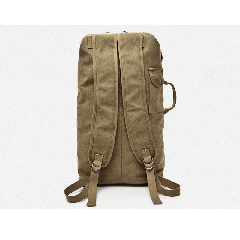 Large Capacity Backpack Man Mountaineering Male Outdoor Travel Luggage Bags Boys Canvas Bucket Shoulder Bags Men Backpacks S/L 5