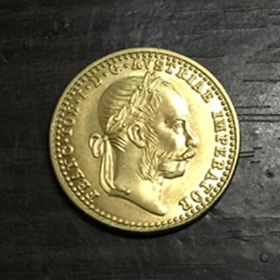 1915 Austria - Habsburg 1 Ducat - Franz Joseph I Gold copy coin