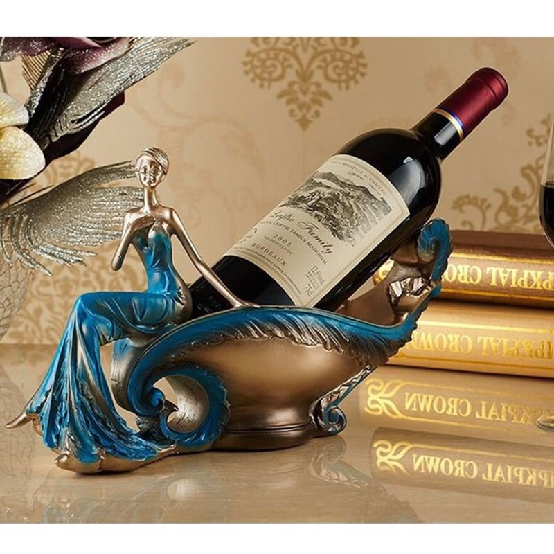 Bellezza Gril Cremagliera del Vino Della Resina Artigianato Figura della Bottiglia di Vino Accessori Per La Casa di Supporto Del Vino L3081Bellezza Gril Cremagliera del Vino Della Resina Artigianato Figura della Bottiglia di Vino Accessori Per La Casa di Supporto Del Vino L3081