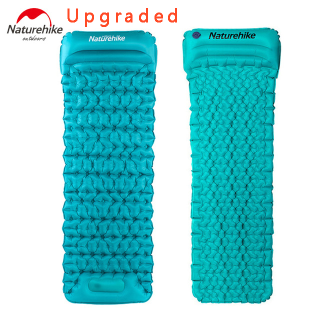 все цены на 2017 Naturehike Outdoor Camping Mat TPU Inflatable Mattress 1 Persom Ultralight Portable Sleeping Pad Airbed онлайн