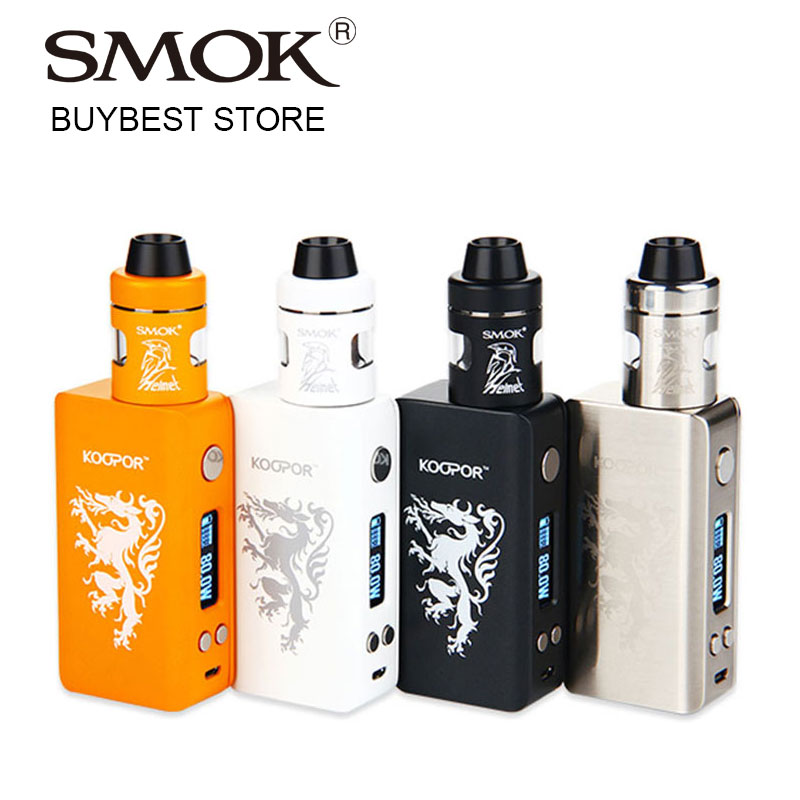 80W SMOK KOOPOR Knight TC Starter Kit with Koopor Mini 2 Mod Helmet Atomizer 2ml No