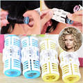 9/18Pcs Grip Cling Hair Styling Tools Plastic Hair Bangs Curler Roller Magic Waver Maker Spiral Curling Hair Treatment Christmas