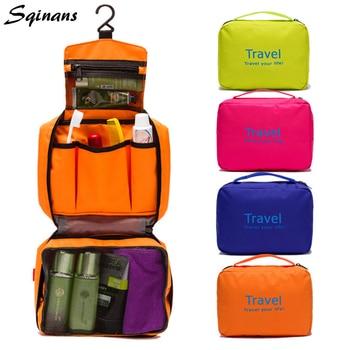 14e7c626ac978 Sqinans neceser colgante impermeable bolsa de almacenamiento de tocador viaje  cosméticos maquillaje organizador
