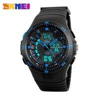 2016 SKMEI Watches Men Waterproof Sport Watch Men Wristwatches Quartz Analog Digital