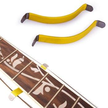 цены 2 Pcs Guitar Bass Luthier String Spreader Holder Fret Care Tool for Polish Cleaning Guitar Fretboard