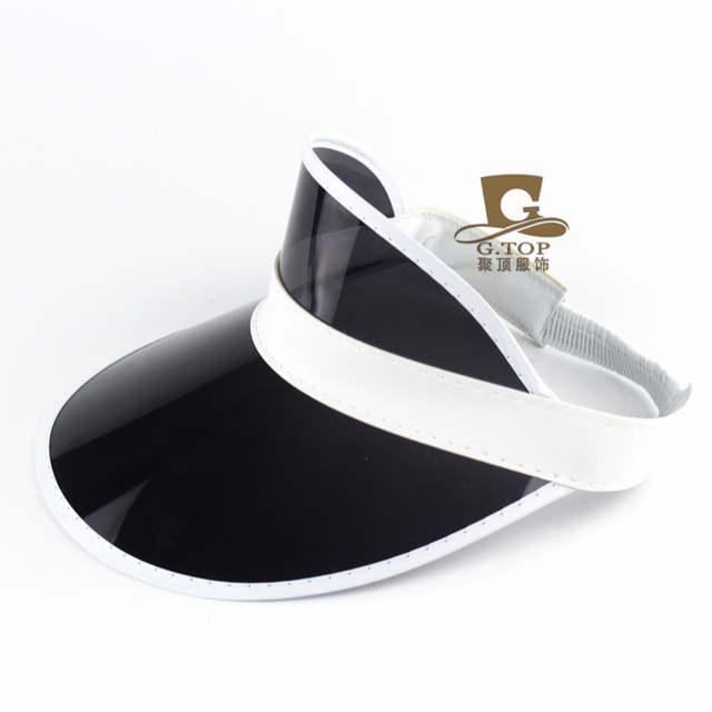 4e807384942 Online Shop 24pcs Neon Sun Visor Peak Cap Clear Plastic Sunvisor Party Hat  Festival Fancy Dress Poker Headband