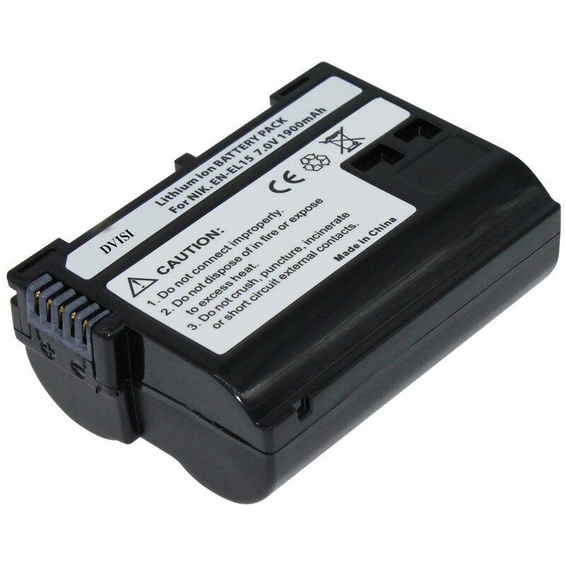 EN-EL15 EN EL15 ENEL15 Rechargeable batterie Pour Appareil Photo Nikon D600 D610 D600E D800 D800E D810 D7000 D7100 d750 V1 MH-25