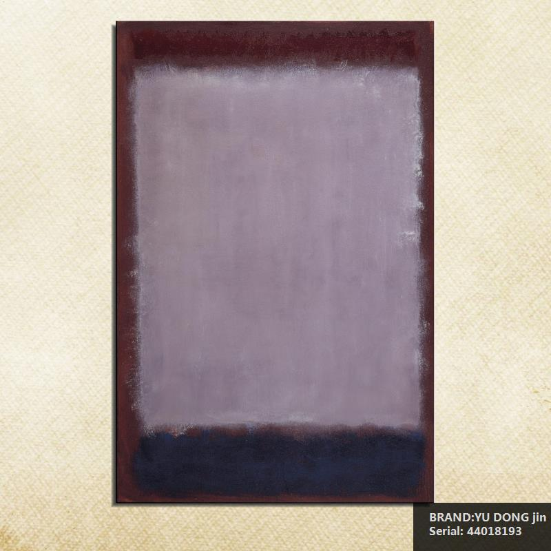 mark rothko still life classical oil painting drawing art spray unframed canvas wax action handmade picture