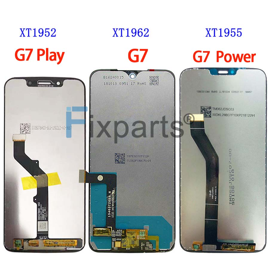 Original For Motorola Moto G7 XT1962 LCD G7 Play Display Touch Screen Sensor Panel Digiziter Assembly New For moto G7 Power LCD (1)