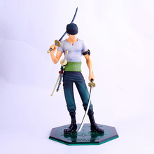 ONE PIECE Anime Action & Toy Figures 24cm POP Roronoa Zoro PVC Figure Toys for Children Adult Kids Birthday Christmas Gift