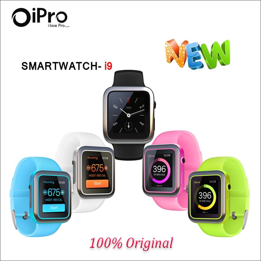 New Bluetooth font b Smart b font font b Watch b font I9 Smartwatch for Iphone