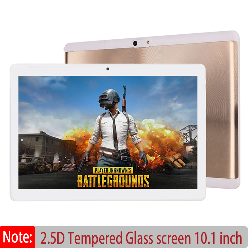 Tablet PC 10.1 Inch 2.5D Screen Android 7.0 Octa Core CPU Dual Camera Dual SIM Dual WIFI GPS Phone Call Tablet PC TF Card Extend volteco bigcat dual