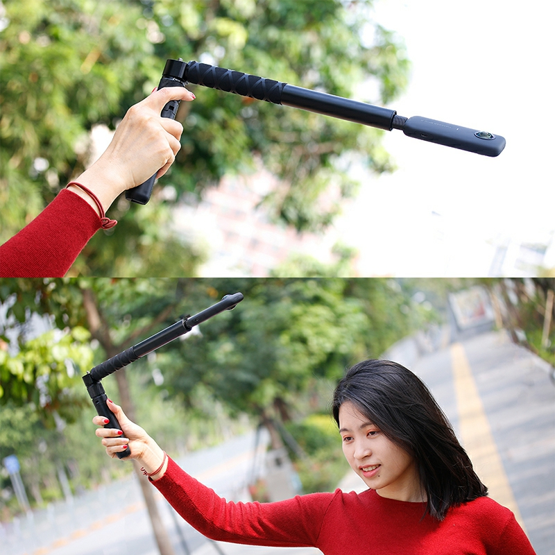 cheapest Universal Insta360 One X One R Plus EVO Selfie Stick Bullet Time Handheld Tripod Invisible Selfie Stick Insta360 Accessories