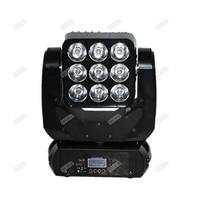 2pcs Lot Dj Light Disco Light Party Night Club Lights 9x10W LED Matrix Moving Head Light
