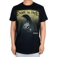 Ücretsiz kargo Falling In Ters ve Kaçış Kader Alternative Rock Yeni moda popüler yaz InBlack T-shirt