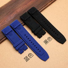 017f599c22e Novo Invicta relógio pulseira de Borracha preta à prova d  água pulseira de  silicone pulseira